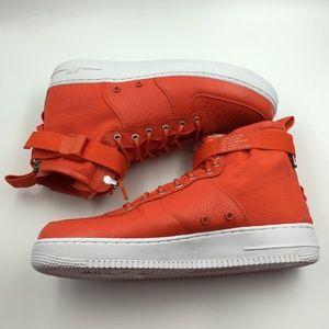 Nike Shoes - Nike Orange Team SF Air Force Mid G0811660